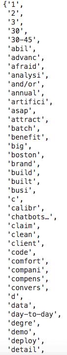 job descriptions final dataset